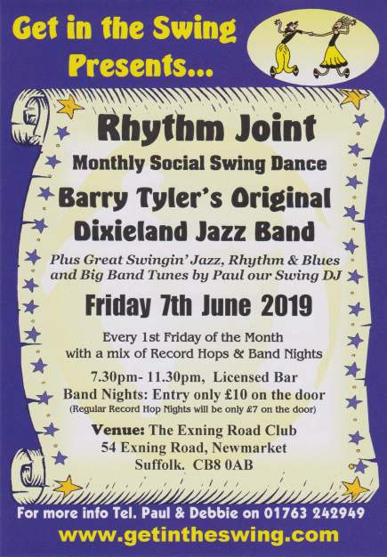 Rhythm Joint Flyer