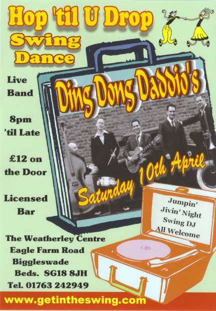 Ding Dong Daddios Flyer 2010