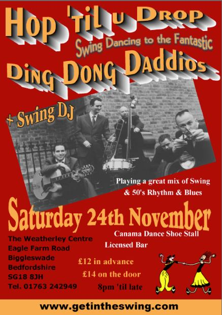 Ding Dong Daddios Flyer 2012