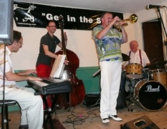 Gary Wood Quartet at Steeple Morden