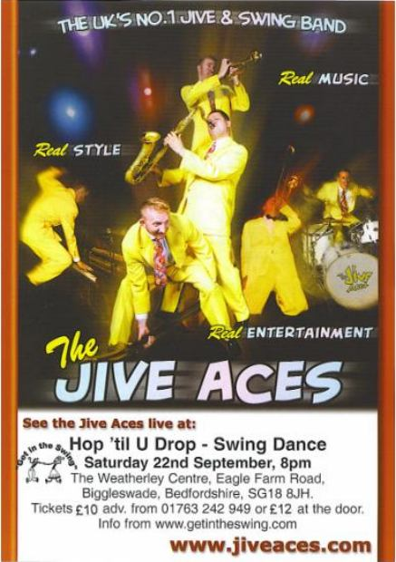 The Jive Aces Flyer 22-09-07