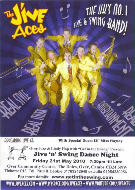 Jive Aces Flyer 21-5-10