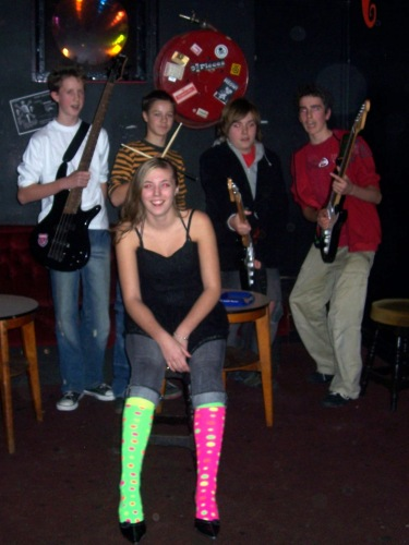 Hayley in School Rock Band: Odd Sock & Pointy Shoes