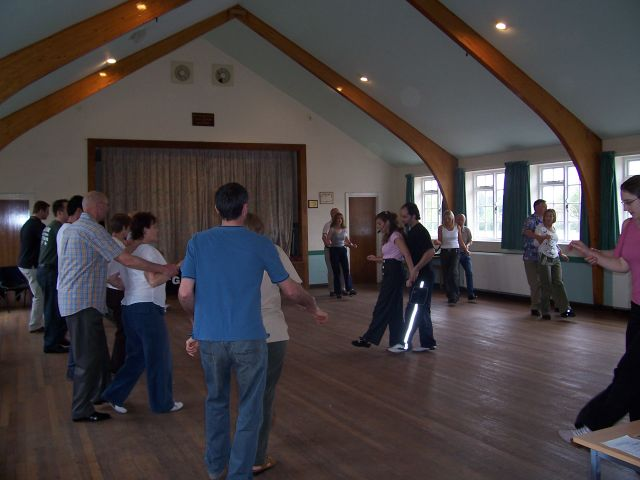 Lindy Hop in Steeple Morden Village Hall