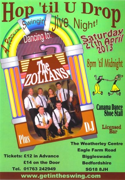 The Zoltans 2013 Flyer